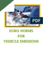 Pollution Emission Standards
