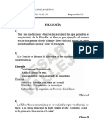 Solucionario Domiciliarias Del Boletin 01 de Filosofia-semestral Vallejo