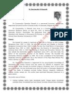 Dr Suryanath U Kamath
