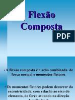 FLEXÃO COMPOSTA