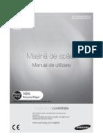 Mas Spalat Samsung WF1602WQU Manual Utilizare Romanian