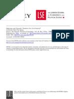 Flyvbjerg, Habermas and Foucault