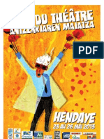 Programme Mai du Théâtre (Hendaye)