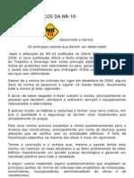 PRINCIPIOS BÁSICOS DA NR10