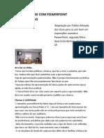 DEFESA COM PowerPoint  PASSO A PASSO