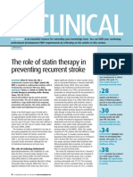 060919The Role of Statin Therapy in Preventing Recurrent Stroke