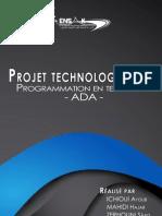 Rapport projet Technologie Web - Programmation Temps Réel