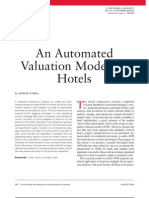 Hotel Automated Valuation Model (AVM) Article