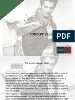 Peter England Presentation- Dipti Patel