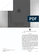 Ordo Baptismi Parvulorum 1973 (reeditio 1986)