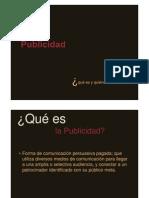 PUB001 La Publicidad