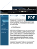 Airline Industry Structures
