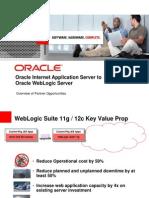 Oracle Internet Application Server to Oracle WebLogic Server