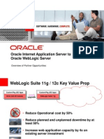 Oracle Internet Application Server to Oracle WebLogic Server