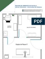 Plano Referencial de Ambiente de Rayos X _UNIVERSIDAD DEL ALTIPLANO