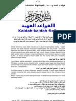 KAIDAH FIQHIIYYAH ( REFISI ) (1)