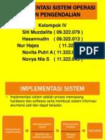 Implementasi Sistem Operasi Dan Pengendalian