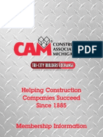 The Construction Association of Michigan (CAM)