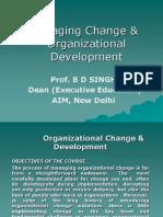 Managing Change & OD