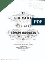 Air Varie Op21 Regondi Giulio