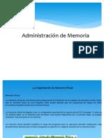 Organizacion de Memoria