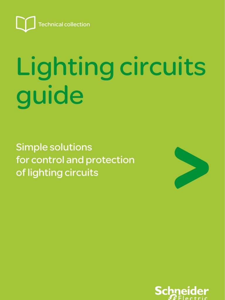 (Schneider) Lighting Circuits Guide | Efficient Energy Use | Fluorescent  Lamp