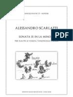 Scarlatti Sonata 9 Score