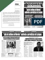 Versión impresa del periódico El mexiquense 20 mayo 2013