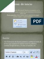 Diapositivas en Power Point