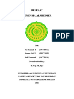 Referat Demensia Alzheimer