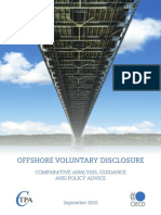 "OCDE - ""Offshore Voluntary Disclosure"" - September 2010"