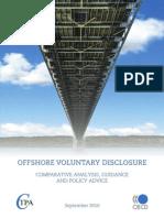 """OCDE - """"Offshore Voluntary Disclosure"""" - September 2010"""