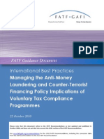 "GAFI - ""Best Practices Voluntary Tax Compliance 2010 Cover"""