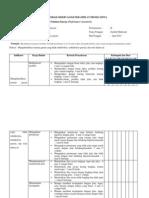Rubrik Penilaian Kinerja (Kelas) Lp 2
