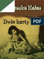 Agnieszka Hałas Dwie karty