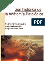 01 EVOLUCIÓN HISTÓRICA DE LA PATOLOGÍA 2011