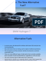 Bmw Hydrogen 7 Presentation