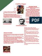 1MiragliottaE Civil War Project