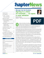 SLANY ChapterNews Newsletter Spring 2007