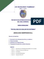 Proy Tecnologia en Analisis de Sistemas Semipres 2012