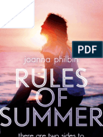 Rules of Summer by Joanna Philbin, Chapter One