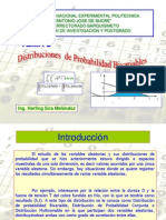 Distribuciones de Probabilidad Bivariables
