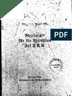H.Dv.481-11 Merkblatt für die Munition der F.K. 16 - 1934