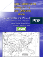 Geologic Conditions Beneath New Orleans