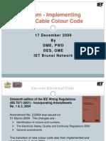 Forum on New Colour Code-17 Dec 2009