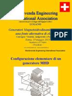 Generatori Magnetoidrodinamici (MHD): una fonte alternativa di elettricità - Presentazione