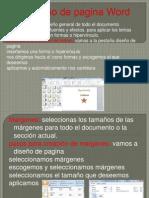 Diseño de pagina Word