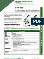 C&A MFL06, Microscopio Óptico Dual, Ficha Técnica