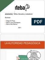 Autoridad Pedagogica