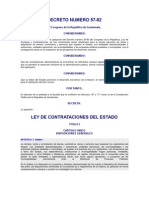 Decreto Del Congreso 57-92
